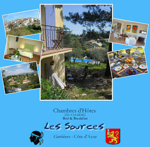 The B and Bs LES SOURCES  offer  4 spacious and comfortable rooms all with private bathrooms and toilets, a very large living room with a library and a lounging area, and breakfast with homemade sweets and jam. A local fitness center has kindly made its services available to our guests. Guaranteed parking.